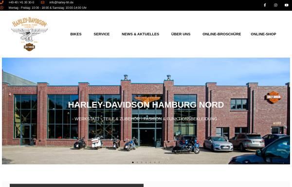 Vorschau von www.harley-hh.de, Harley Davidson Hamburg Nord