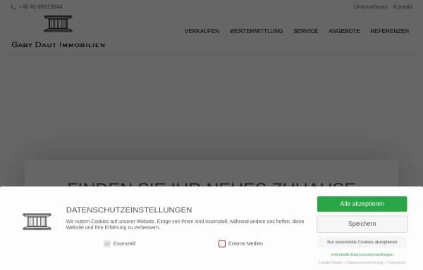 Vorschau von www.daut.de, Daut Immobilienmakler