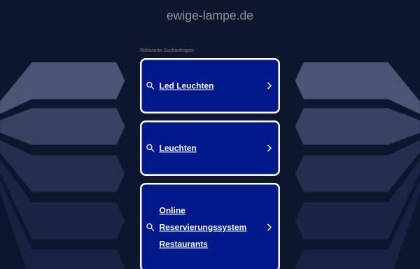 Vorschau von www.ewige-lampe.de, Ewige Lampe