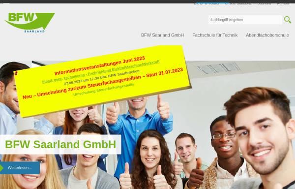 Vorschau von www.bfwsaarland.de, BFW Saarland GmbH