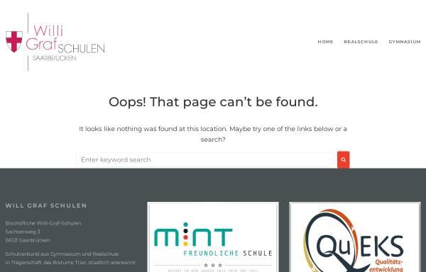Vorschau von www.willi-graf-schulen.de, WGRS Willi-Graf-Realschule