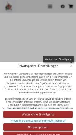 Vorschau der mobilen Webseite www.hexenzunft-obernheim.de, Hexenzunft Obernheim e. V.