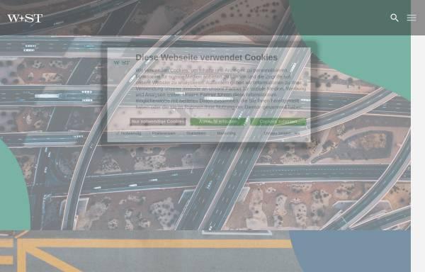 Vorschau von www.w-st.de, W und ST Wirtschafts- und Steuerberatung AG Wirtschaftsprüfungsgesellschaft