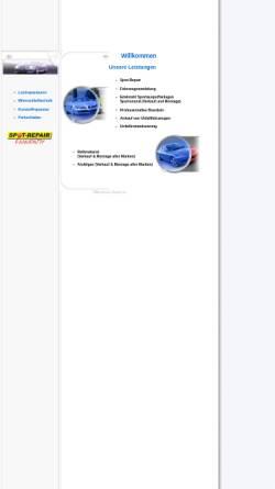 Vorschau der mobilen Webseite www.fischertuning.de, Reifen- und Automobil-Service Fischer GbR Habkirchen