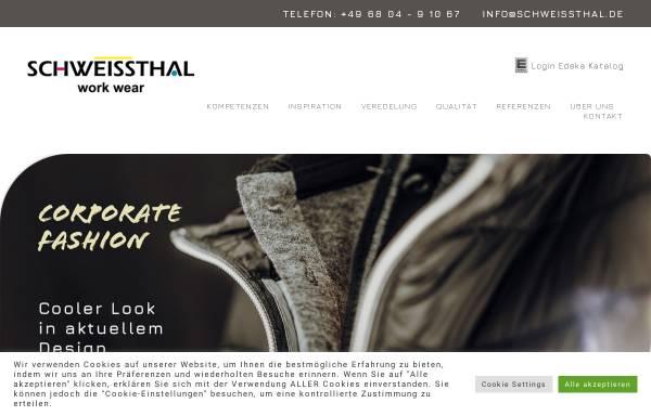 Vorschau von www.schweissthal.de, Schweissthal GmbH Berufsbekleidung Bliesmengen