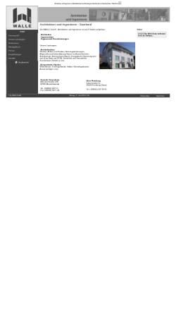 Vorschau der mobilen Webseite www.walle.de, Walle GmbH