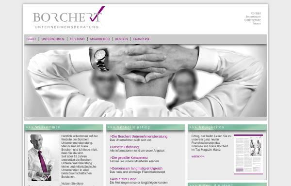 Vorschau von www.bub-mainz.de, Borchert Unternehmensberatung