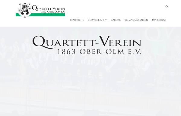 Vorschau von www.quartett-verein.de, Quartett-Verein 1863 Ober-Olm e.V.