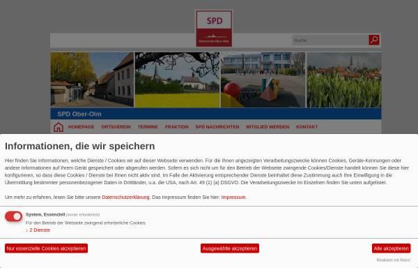 Vorschau von spd-ober-olm.de, SPD-Ortsverein Ober-Olm