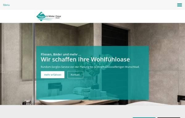 Vorschau von www.fliesenundbaederoase.de, Fliesen- und Bäder-Oase GmbH