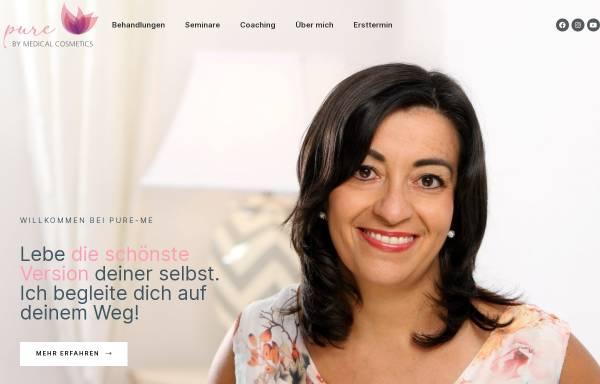 Vorschau von www.medicalcosmetics.de, Institut für Ganzheitskosmetik und Fachschulungen Medical Cosmetics