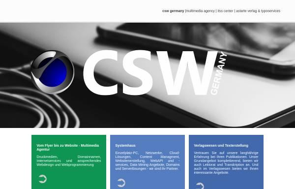 Vorschau von www.csv.net, CSW Germany Andreas Neumann