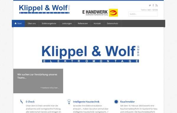 Klippel Und Wolf Gmbh Bauwesen Wirtschaft