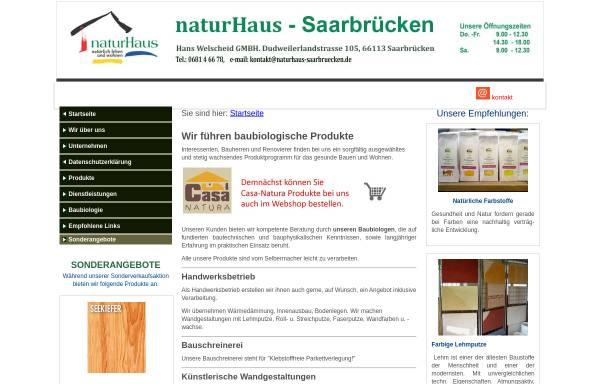 Vorschau von www.naturhaus-saarbruecken.de, Naturhaus