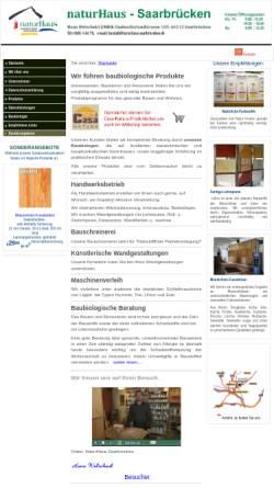 Vorschau der mobilen Webseite www.naturhaus-saarbruecken.de, Naturhaus