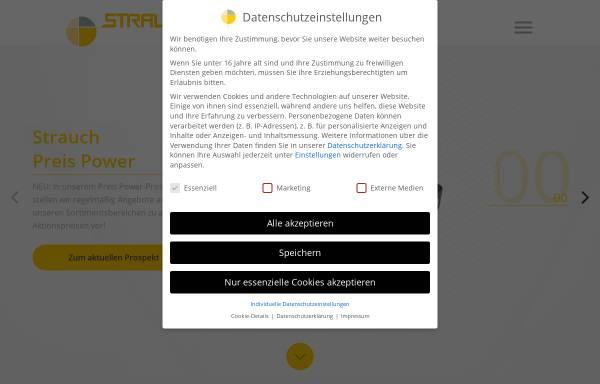 Vorschau von www.strauchgmbh.de, Alfred Strauch GmbH