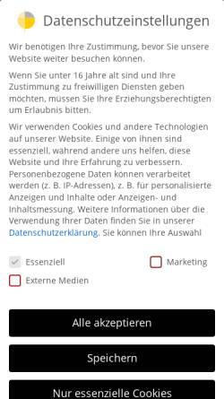 Vorschau der mobilen Webseite www.strauchgmbh.de, Alfred Strauch GmbH