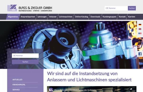 Vorschau von www.blass-ziegler.de, Blass und Ziegler GmbH
