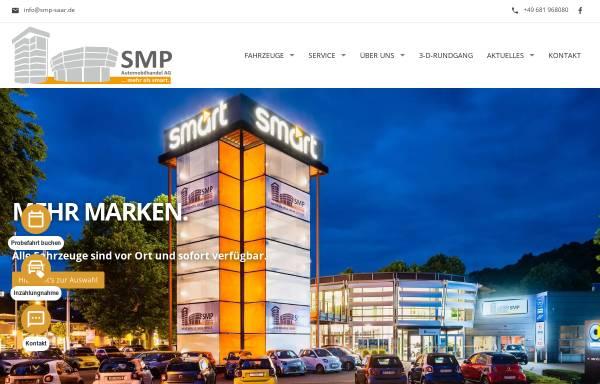 Vorschau von www.smart4saar.de, SMP Automobilhandel AG