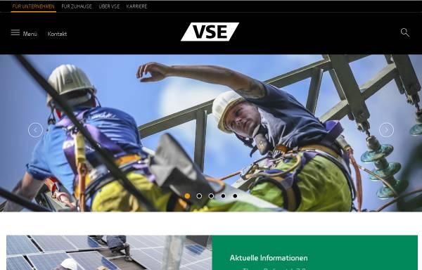 Vorschau von www.vse.de, VSE Vereinigte Saar Elektrizitäts AG