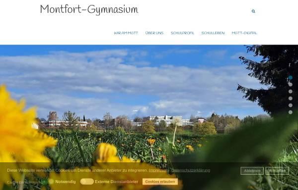 Vorschau von www.mgtt.de, Montfort-Gymnasium