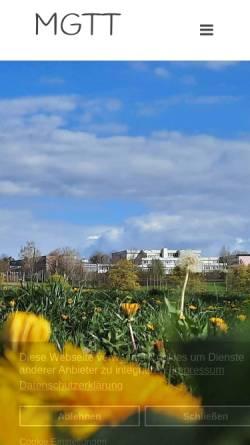 Vorschau der mobilen Webseite www.mgtt.de, Montfort-Gymnasium