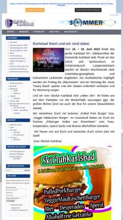Vorschau der mobilen Webseite www.skiclub-karlsbad.de, SkiClub Karlsbad e.V.