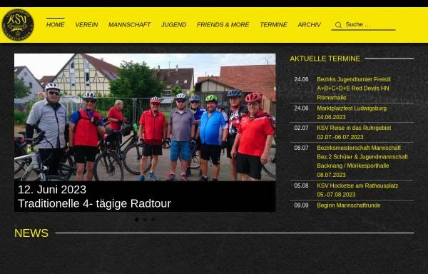 Vorschau von www.ksv-neckarweihingen.de, KSV Ludwigsburg-Neckarweihingen e.V.