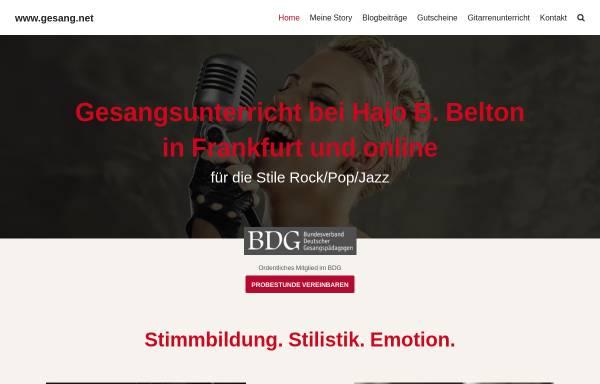Vorschau von www.gesang.net, Belton, Hajo B.