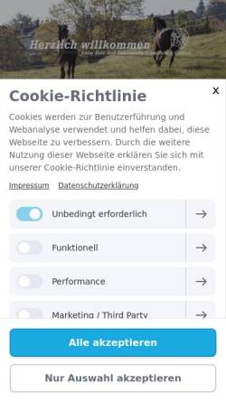 Vorschau der mobilen Webseite www.rufv-schwaebisch-gmuend.de, Reit- und Fahrverein Schwäbisch Gmünd e.V.