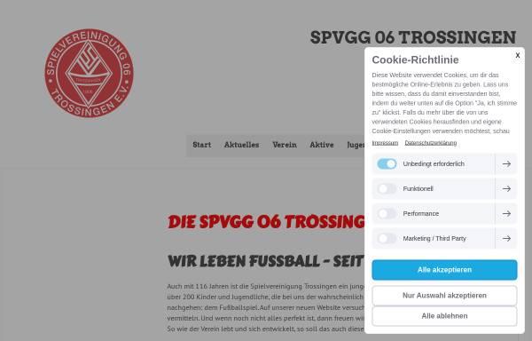 Vorschau von www.spvgg-trossingen.de, Spielvereinigung Trossingen e.V: