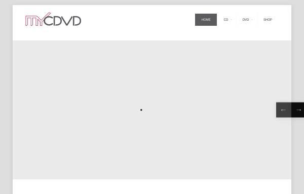 Vorschau von mycdvd.de, myCDVD - media driven, Axel Pommerening