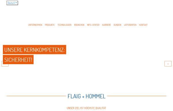 Vorschau von www.flaig-hommel.de, Flaig + Hommel GmbH