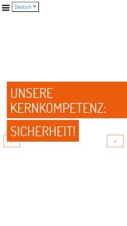 Vorschau der mobilen Webseite www.flaig-hommel.de, Flaig + Hommel GmbH