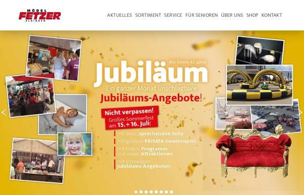 Vorschau von www.moebel-fetzer.de, Möbel Fetzer Inh. Helmut Fetzer