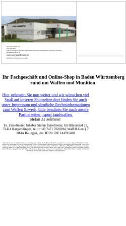 Vorschau der mobilen Webseite www.army-store.com, Army Store Zeiselmeier