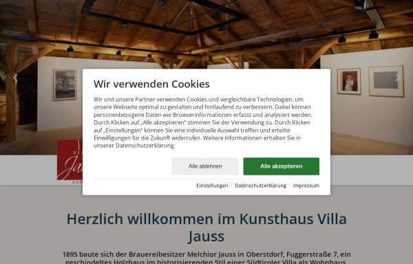 Vorschau von www.villa-jauss.de, Initiative Villa Jauss e.V.