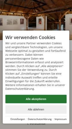 Vorschau der mobilen Webseite www.villa-jauss.de, Initiative Villa Jauss e.V.