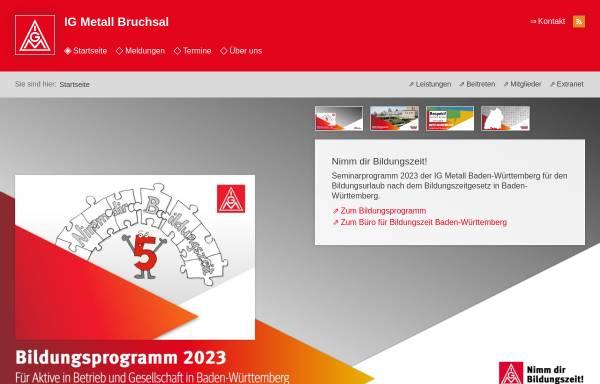 Vorschau von www.bruchsal.igm.de, IG Metall Bruchsal