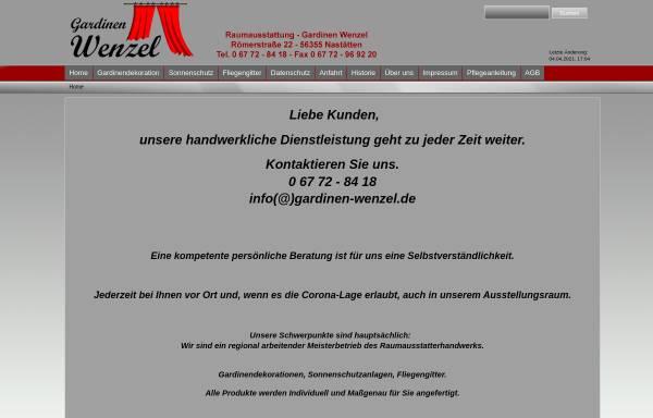Raumausstattung Gardinen Wenzel: Wirtschaft, Nastätten gardinen ...