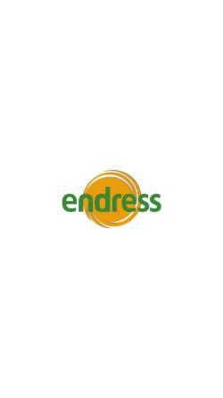 Vorschau der mobilen Webseite www.endress-shop.de, Endress Motorgeräte GmbH