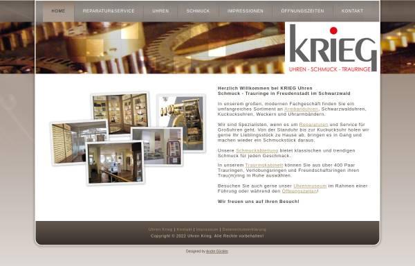 Vorschau von www.antik-uhr.de, Krieg, Optik-Uhren-Schuck