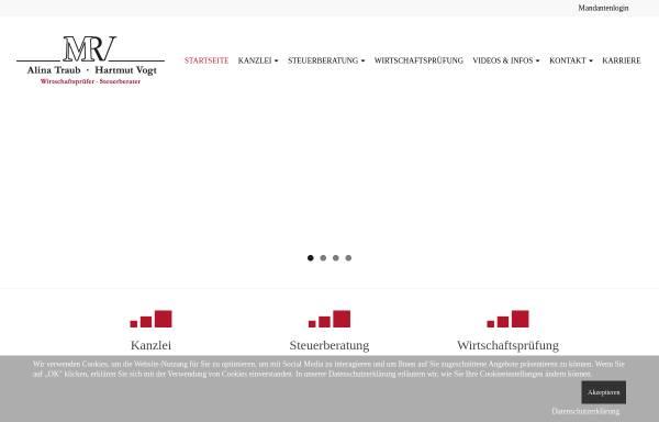 Vorschau von www.mmrv.de, MMRV Steuerberater, Wirtschaftsprüfer und Rechtsanwälte