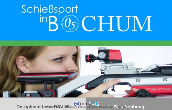 Vorschau von www.blau-weiss-05.de, Bürger-Schützenverein Blau-Weiß 05 Bochum-Oberdahlhausen e.V.