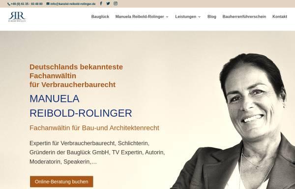 Vorschau von www.reibold-rolinger.de, Anwaltskanzlei Reibold-Rolinger