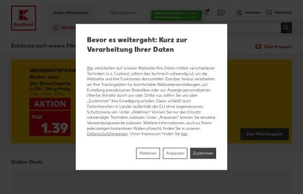 Vorschau von www.kaufland.de, Kaufland Omnichannel International GmbH & Co. KG