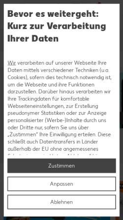 Vorschau der mobilen Webseite www.kaufland.de, Kaufland Omnichannel International GmbH & Co. KG