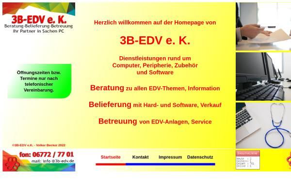 Vorschau von www.3b-edv.de, 3B-EDV e. K.