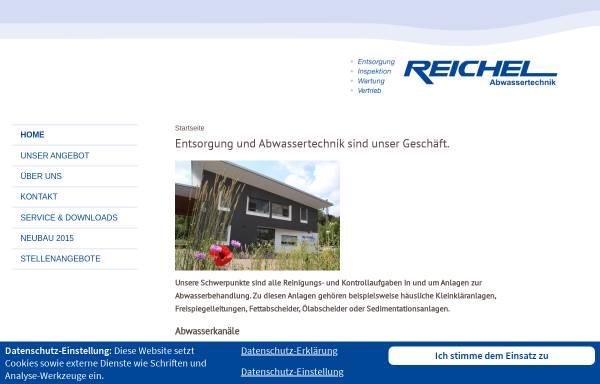 Vorschau von www.reichel-abwassertechnik.de, Manfred Reichel Transporte und Abwassertechnik GmbH
