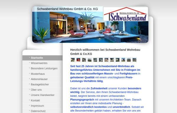 Vorschau von www.schwabenland-wohnbau.de, Schwabenland Wohnbau GmbH